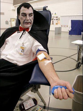 Blodgivare ser bra ut att vara