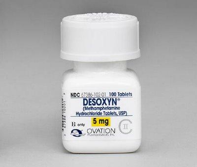 Desoxyn Metamfetamin