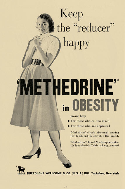 Metamfetamin reklam