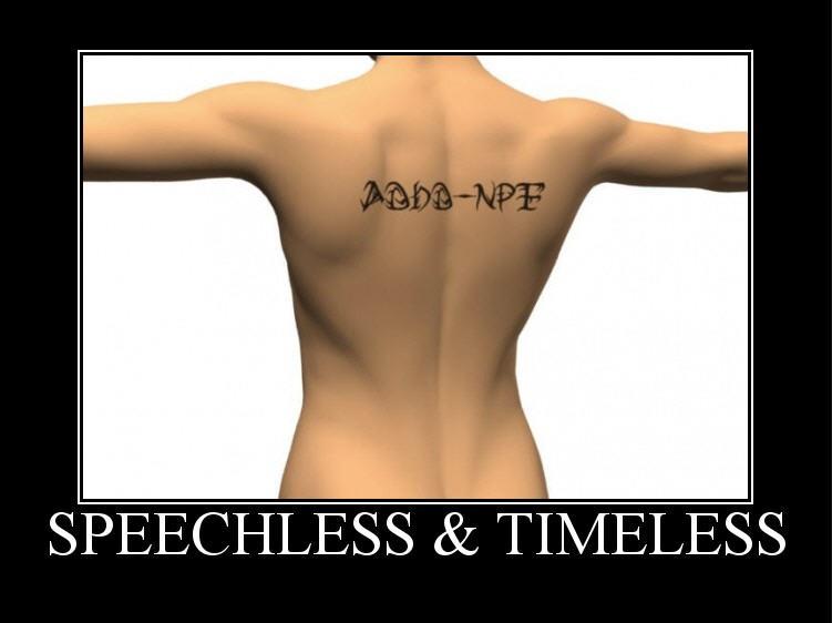 sadhd-npf speechlkess