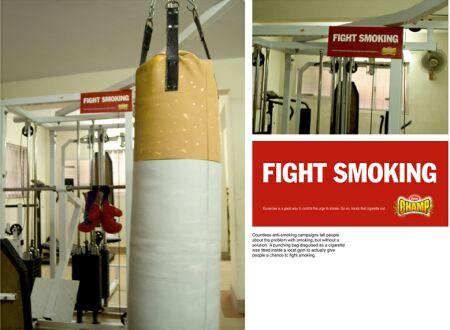 boxa bort tobaken