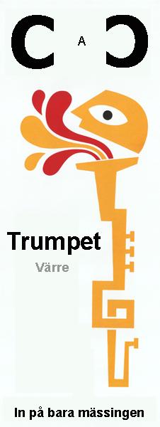 Trumpet värre  CAC hålet i mässingen