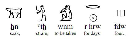 Ebers Papyrys under fyra dagar