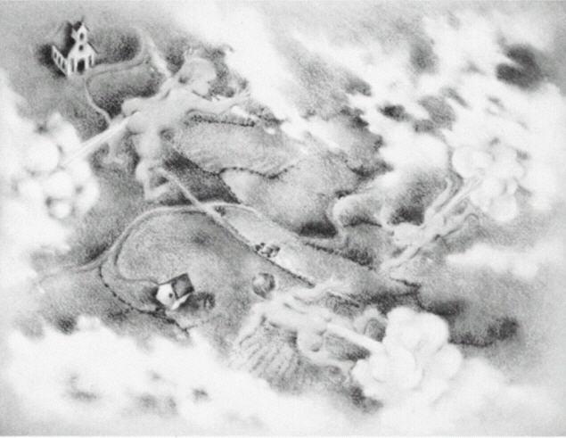 Ser Koppar taken som flygande tefat